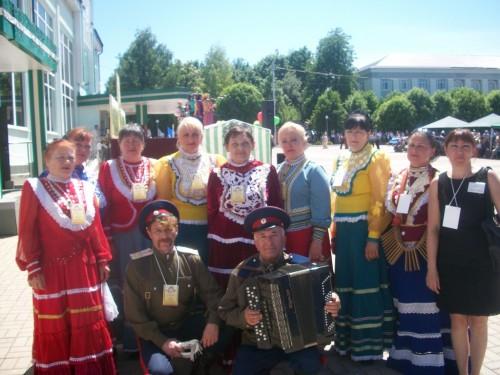 Нар.фольклор. анс. казачей песни ЛЮБАВУШКА, г. Краснодон (2)